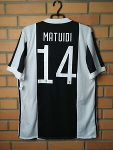 hot sale online 53eff b7401 Details about Juventus Home football #14 Matuidi 2017-2018 adizero player  issue jersey Adidas