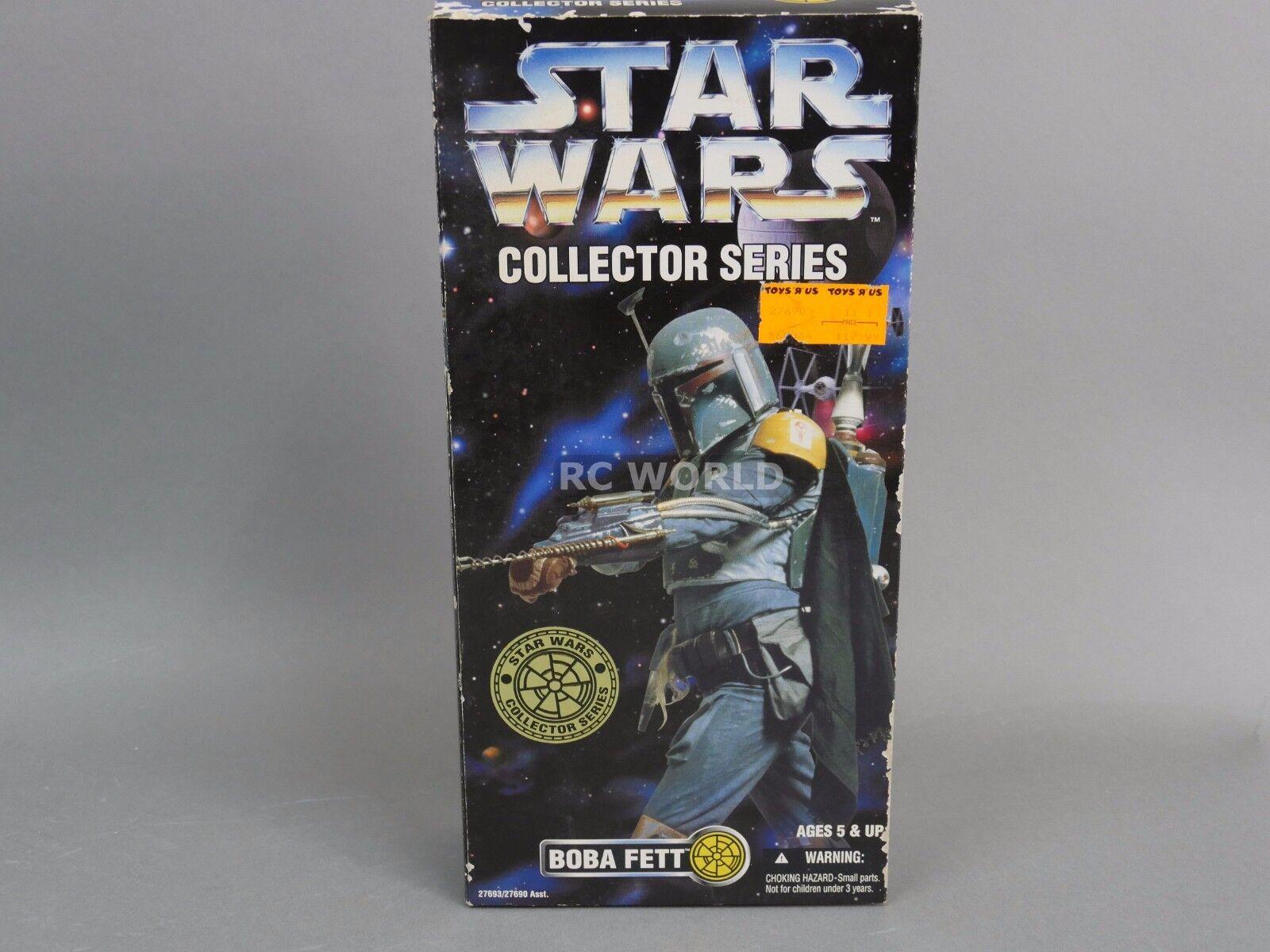 De colección Guerra de las Galaxias Boba Fett colector serie 12  figura  rk1