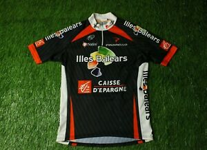 Image is loading RARE-CYCLING-SHIRT-JERSEY-ILLES-BALEARS-NALINI-CAISSE- 3dc596cf7