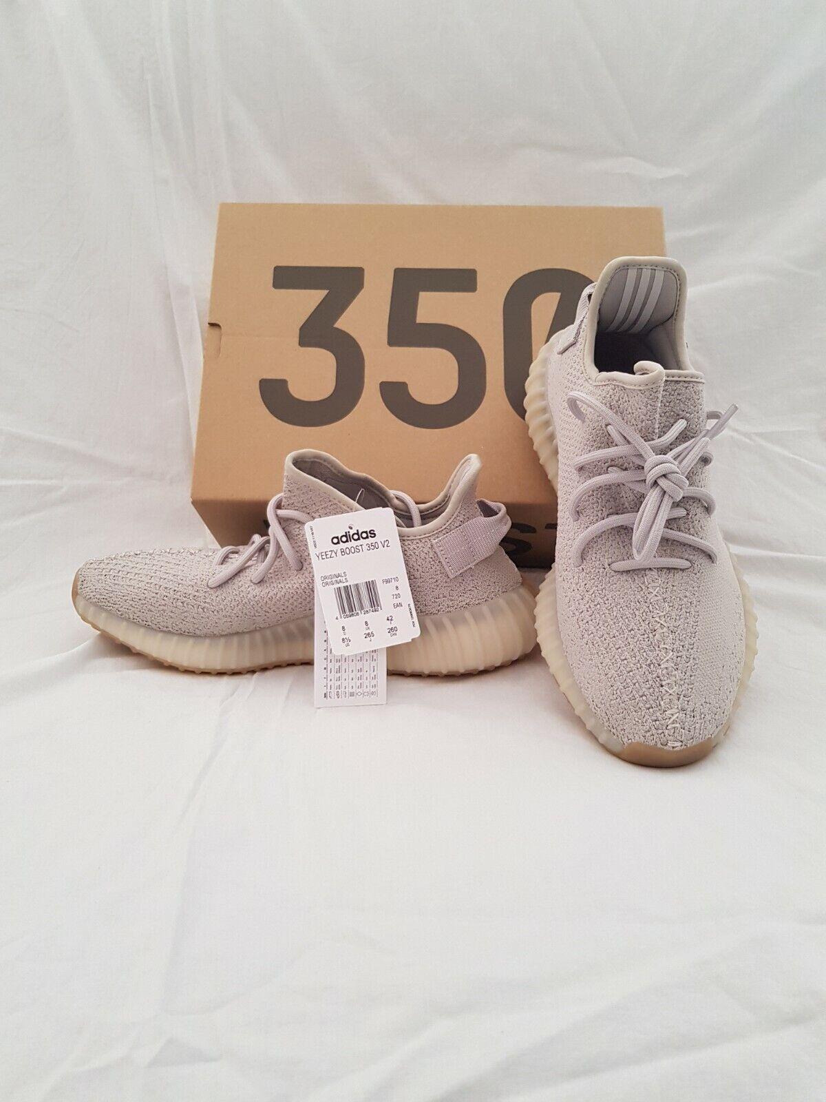 Adidas Yeezy Boost 350 Sesame Nuove US 8,5-EU 42 complete di scatola originale