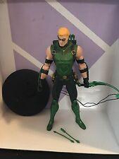 dcc dc direct collectible figure green arrow new 52 jlu jla Justice League
