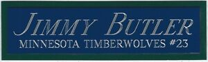 JIMMY-BUTLER-TIMBERWOLVES-NAMEPLATE-FOR-Signed-Basketball-JERSEY-PHOTO-FLOOR