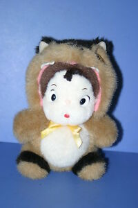 My neighbor TOTORO Neko Cat Bus Costume of Mei Plush doll ...