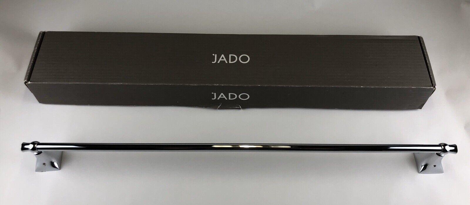 "~NIB~ JADO Bathroom 30"" Towel Bar - Illume Series - Polished Chrome 020/800/"