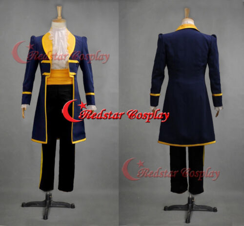Mens Royal Prince Charming Beauty and The Beast Adult Cosplay Costume