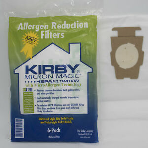 Image Is Loading Kirby Vacuum Bags 6x F Style Micron Magic