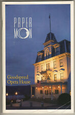 """Paper Moon""  Playbill 1996 Goodspeed Opera House"