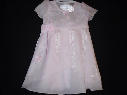 BABY GIRLS DRESS 6-12 12-18 18-23 MTHS PINK BNWT
