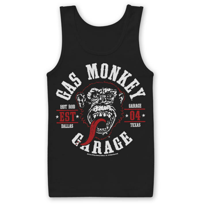 Licence Officielle Gas Monkey Garage-Round Seal tank top top top gilet S-XXL tailles a6075d
