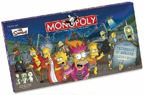 Monopoly Simpsons Treehouse of Horror Collectors Edition by Hasbro