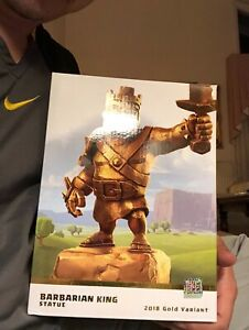 Gold Barbarian King and Archer Queen Limited Edition   eBay