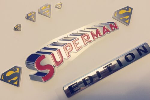 1000/% SUPERMAN FAMILY EDITION emblem JEEP car TRUCK boat LOGO decal SIGN *NEW 1.