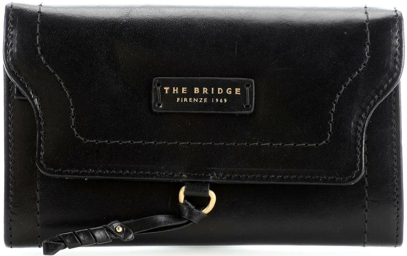 Leather Wallet 100% the Bridge ladies purse Credit Cards Made...