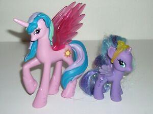 2010 My Little Pony Canterlot Princess Celestia And Princess Luna Toys Ebay