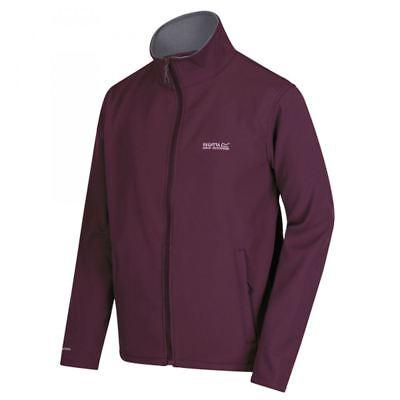 Regatta Mens Cera III Lightweight Stretch Softshell Jacket FIG//SEAL GREY