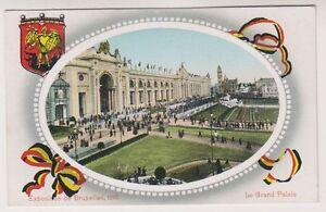 Bruxelles Exhibition 1910 postcard - Le Grand Palais (A37)