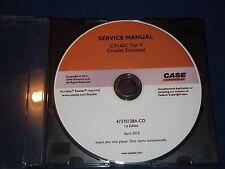 CASE CX160C TIER 4 CRAWLER EXCAVATOR SERVICE SHOP REPAIR BOOK MANUAL 47370128ACD