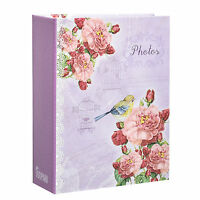 Small 6X4 Slip In Case Photo Album For Holds 100 Photos Choose Design Ideal Gift