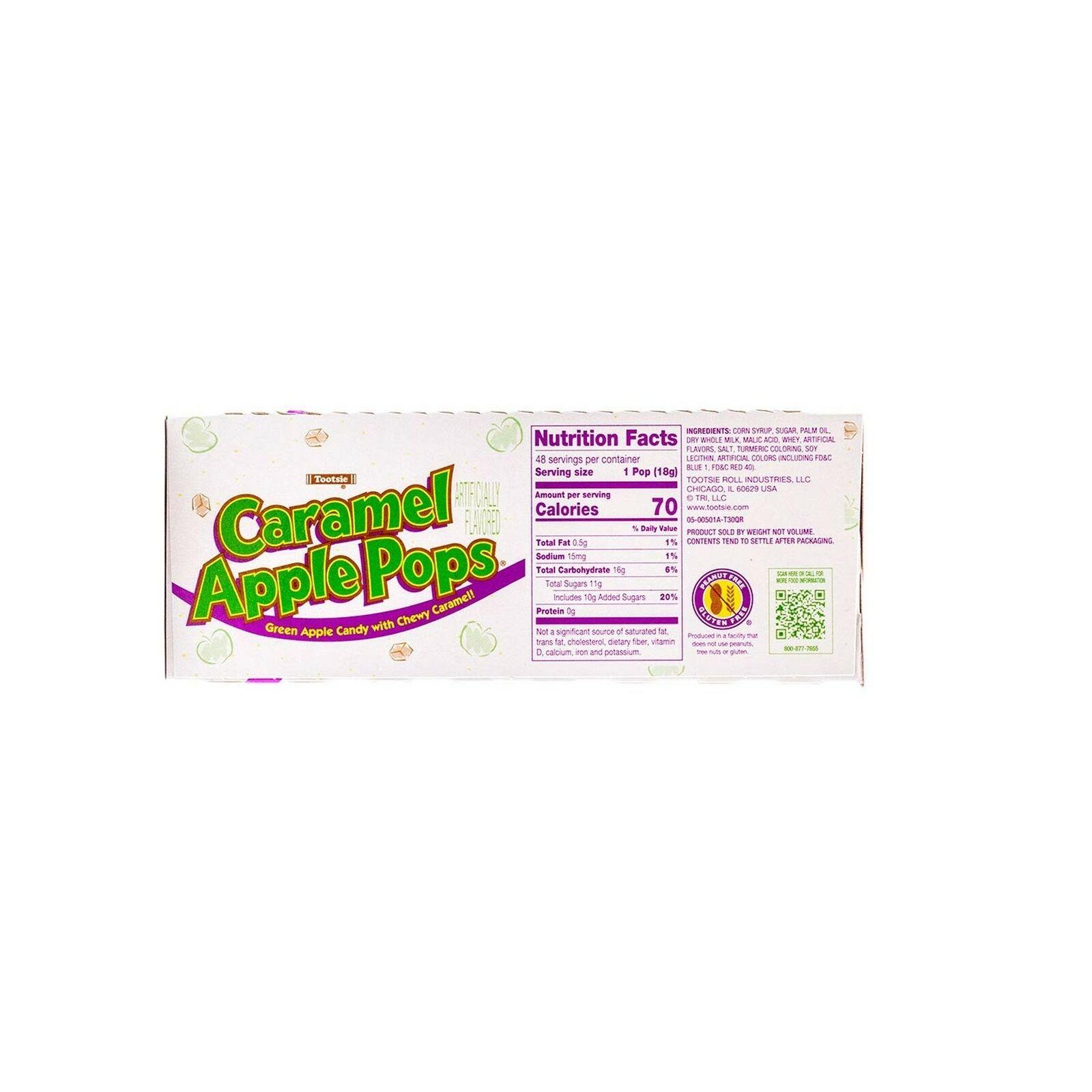 Caramel Apple Pops 48 Count Package Green For Sale Online Ebay