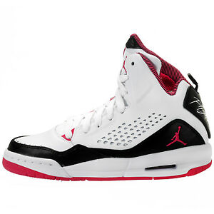 b3db72235154 630611-119 Nike Air Jordan Flight SC 3 (GG) White Black Vivid Pink ...