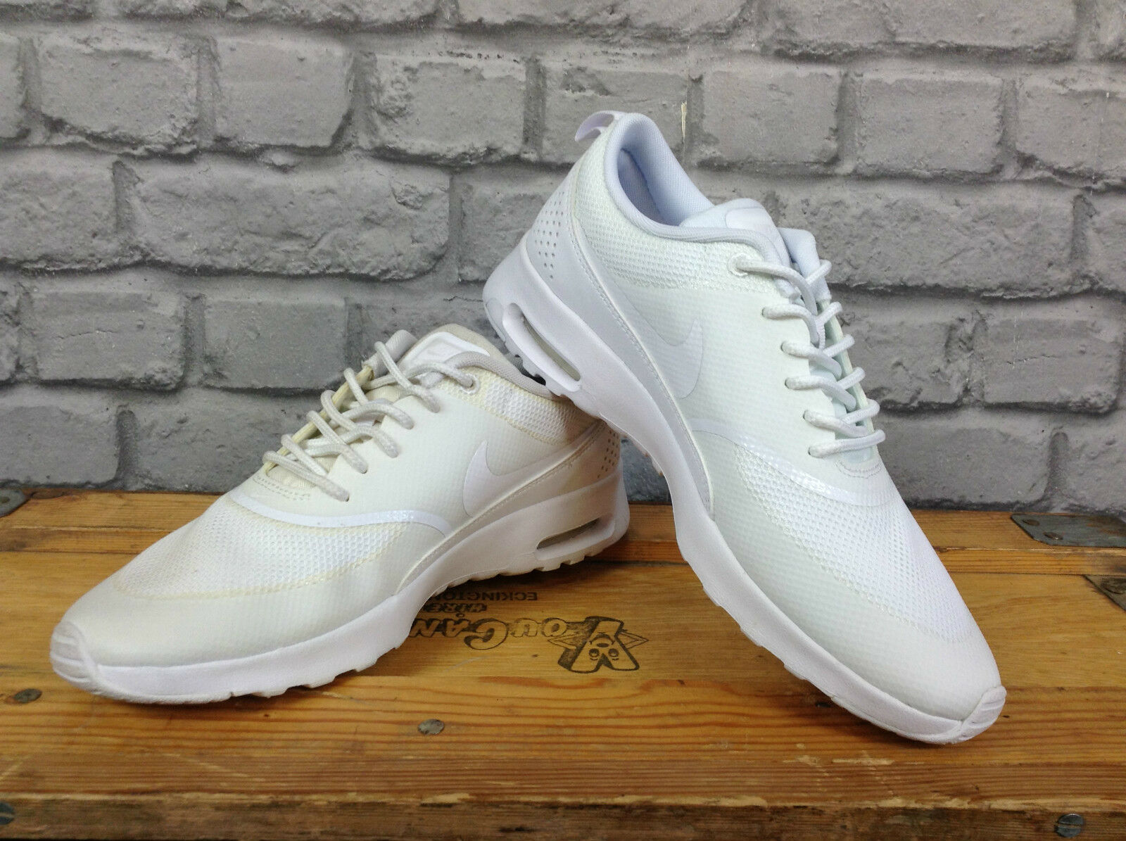 NIKE AIR MAX LADIES THEA II WHITE TRAINERS RUNNING Cheap women's shoes women's shoes