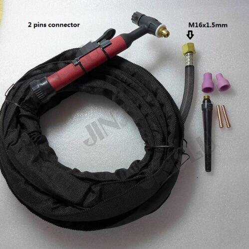 QQ150A QQ-150A 12 Feet M16x1.5mm TIG Welding Torch Complete 150A
