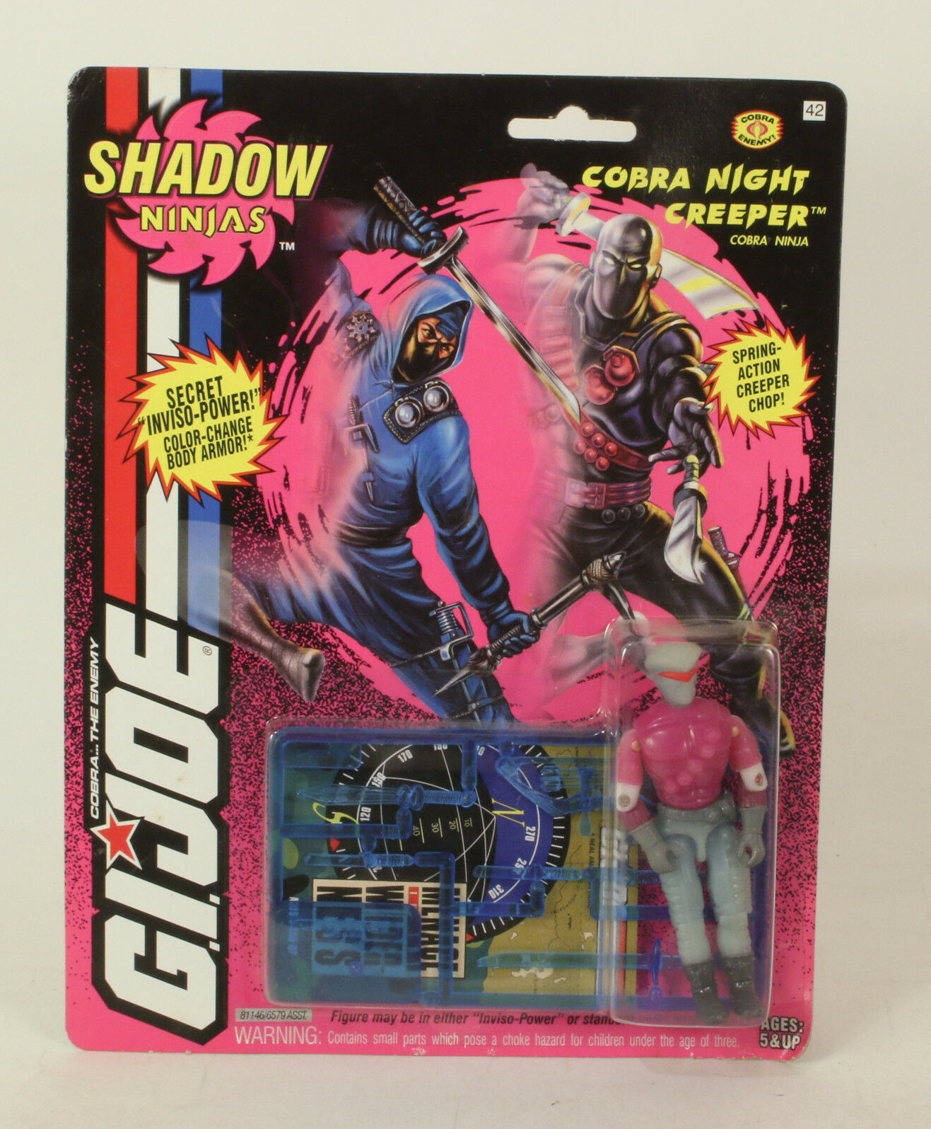 G.I. Joe Shadow Ninjas  Cobra Night Creeper 1993
