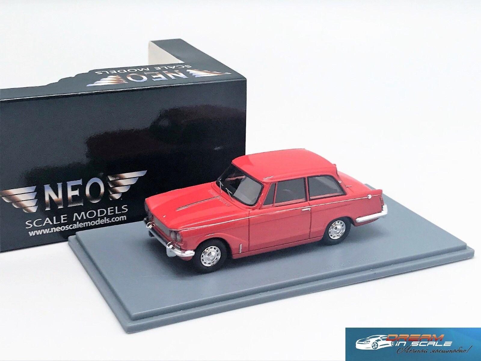 TRIUMPH Vitesse Mk2 1969 rosso NEO45688 1 43