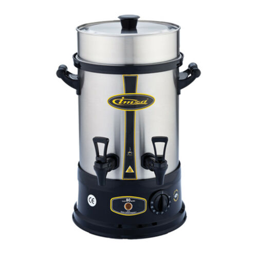 Imza elektrischer Teekocher Semaver Samowar 8 Liter 80 Gläser Caymatik Glühwein