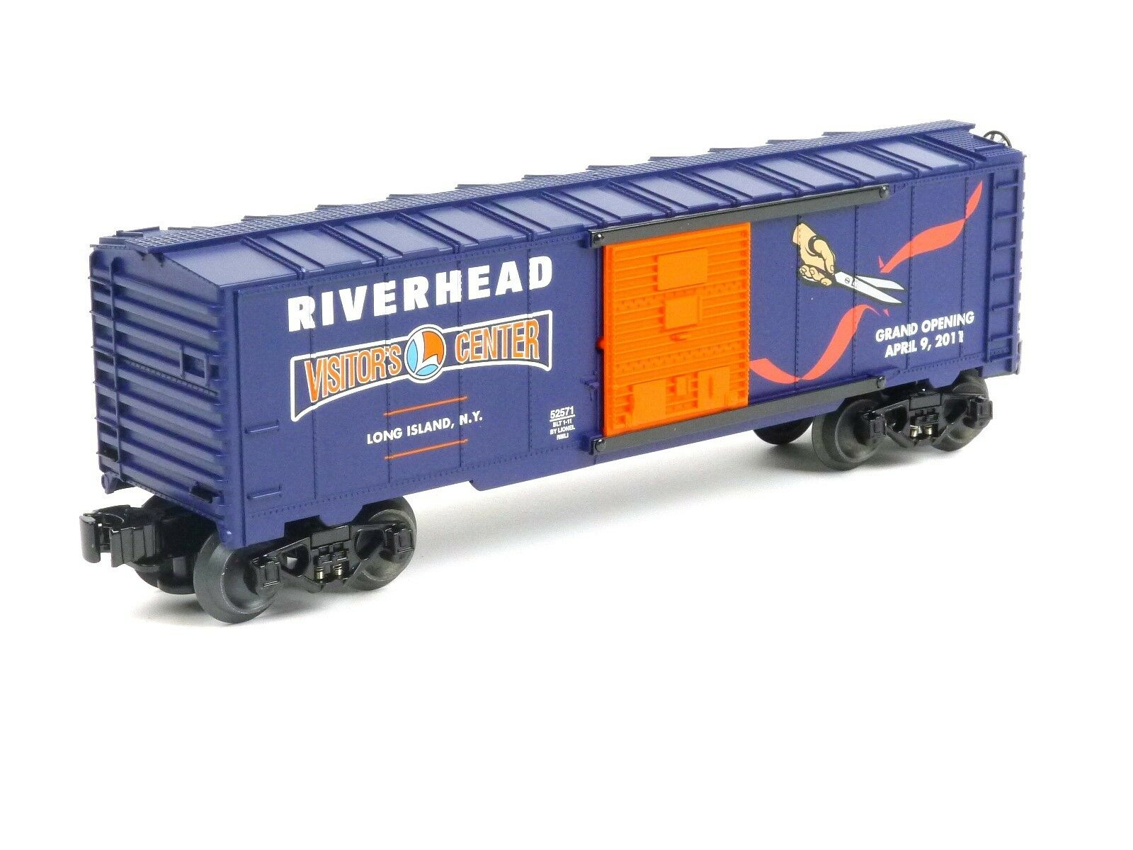 Lionel 6-52571 Riverhead Visitors Center Grand Opening Car O Scale Model Trains