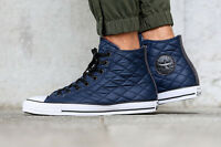 Converse Chuck Taylor All Star Hi quilted Nylon..men 6 Or Women 8..ships Fast
