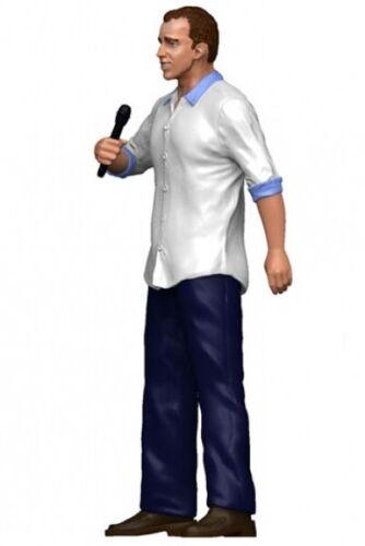Figurenmanufaktur 180145 Reporter Mann mit Mikrofon Figur 1:18