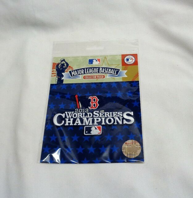 MLB Official Boston Red Sox 2013 World Series Champions Jersey Patch  FREESHIP 4097608ab9f