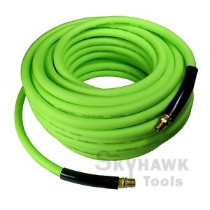 "1/4"" NPT Fitting  3/8'' Inches X 75' Hybrid Polymer 75 FTFeet Air Hose 300 PSI"