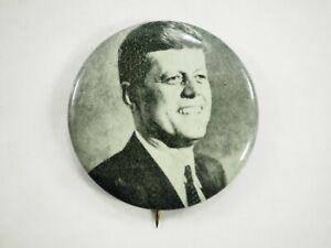 Jfk-Kennedy-Foto-Litho-Politico-Campaign-Pin-Back-Pin-4-4cm