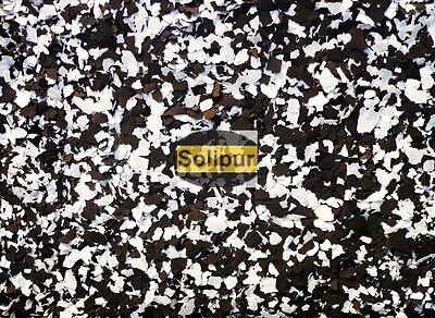 Farbchips Colorchips Bodenbeschichtung Schwarz-Weiss, 1 kg