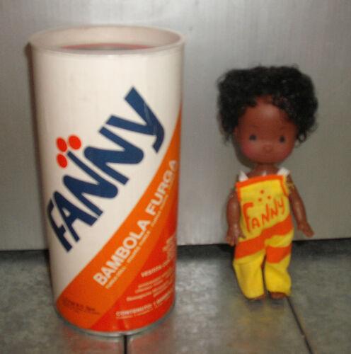 FURGA mini doll minidoll mini dolls CM 15 FANNY nera stile aranciata Fanta