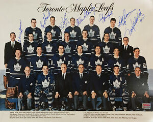 Autographed-Johnny-Bower-Photo-Toronto-Maple-Leafs