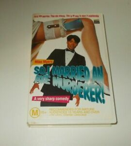 So-I-Married-An-Axe-Murderer-VHS-PAL-Mike-Myers