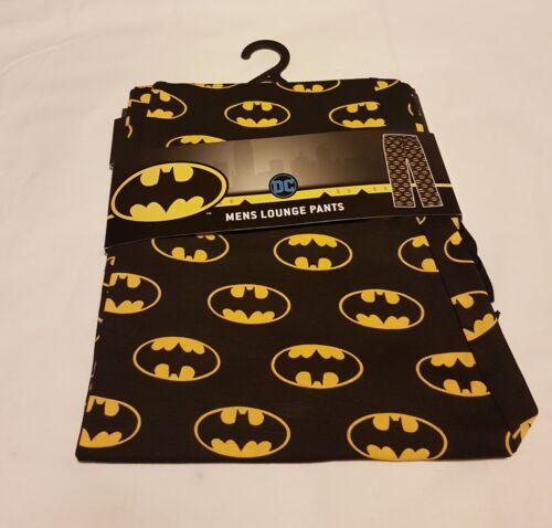 mens  batman  lounge pants pajamas bottoms DC Comics batman