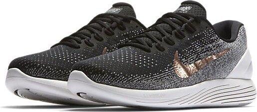 Nike Nike Nike Lunarglide 9 X-Plore Men's Running shoes (8, 9, 9.5) Black Bronze 904745-001 d63300