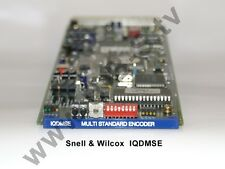 Snell & Wilcox IQDMSE - Multi Standard Encoder (PAL/PAL-N/ PAL-M/NTSC /SECAM)
