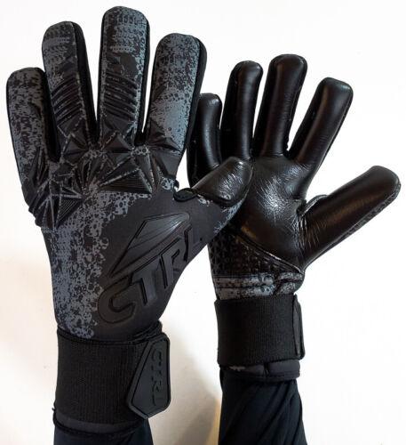 CTRL PRO Contact Foam Negative Cut Soccer Goalkeeper Goalie Gloves Black Out 9