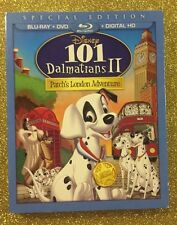 101 Dalmatians II: Patch's London Adventure (Blu-ray/DVD/Digital HD) NEW w/ Slip