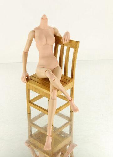 1//6 Scale Female Flexible Pale Body 12/'/' Thin Action Figure Model
