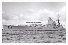 rp14544 - Royal Navy Warship - HMS Rodney , built 1927 - photo 6x4