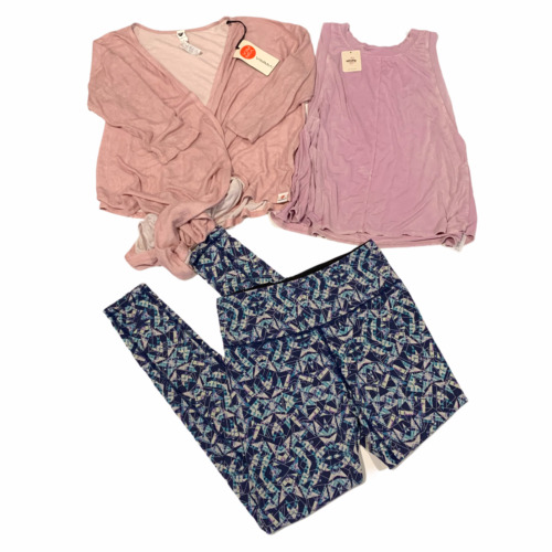 Free People VSX NWT Vimmia 3 Pc Lot Exercise Loung
