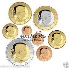 Série 1 cent à 2 euros BELGIQUE 2016 - BU