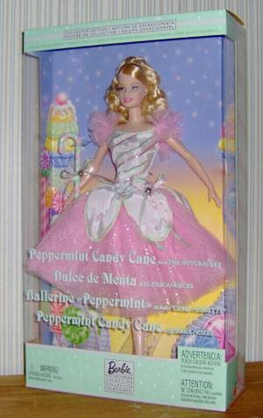 Collector Edition Barbie Doll Peppermint Candy Cane