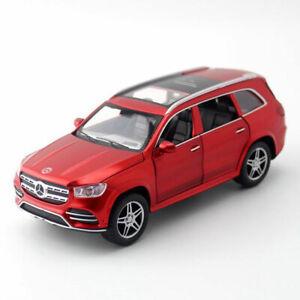 GLS-580-SUV-Off-road-1-32-Die-Cast-Modellauto-Auto-Spielzeug-Model-Sammlung-Rot